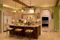 Luxury custom kitchen by Hughes-Edwards Builders
