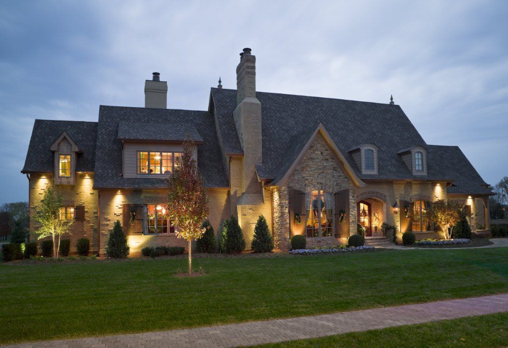 Delightful Old Style Homes Built New #4: Old World Style Home By Hughes Edwards Builders