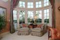 The luxury master bedroom in a Middle Tennessee estate home
