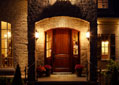 Beautiful custom entryway in a luxury Tennessee estate