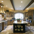 Luxury kitchen in a Middle Tennessee estate home