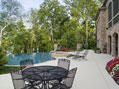 Middle Tennessee luxury home pool and patio