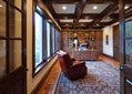 Custom luxury home study by one of Tennessee's premier estate home builders, Hughes-Edwards