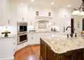 Custom Middle Tennessee kitchen with a large island