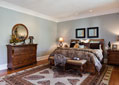 Luxurious master bedroom suite near Nashville, Tennessee