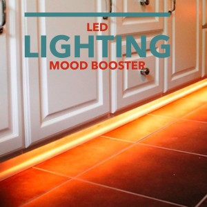 Quick Kitchen Mood-Booster: LED Accent Lighting