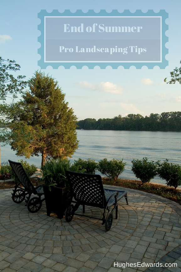 Landscaping Tips- Hughes Edwards Builders