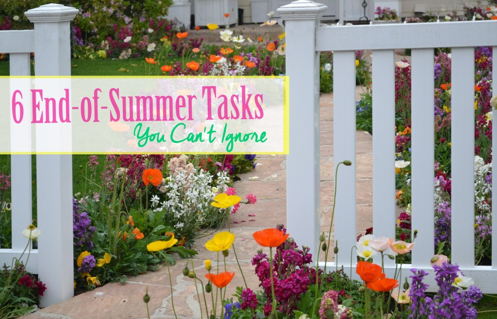 6 End-of-Summer Yard Tasks You Can't Ignore - Hughes Edwards Builders Luxury Homes