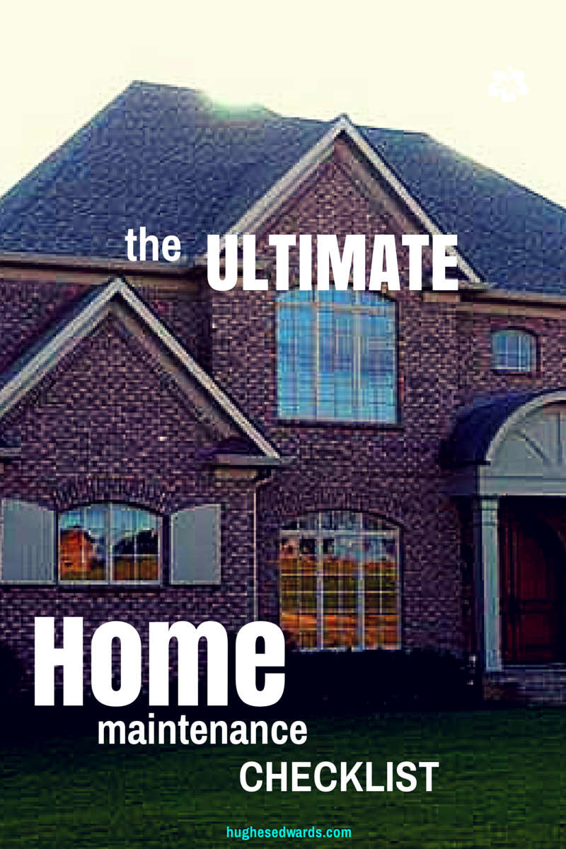 The ultimate late fall home maintenance checklist hughes for Building a custom home checklist