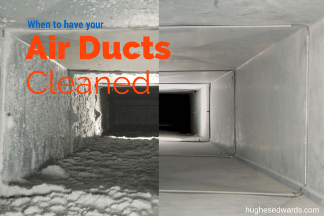 When to have your air ducts cleaned- Hughes Edwards Builders Nashville TN