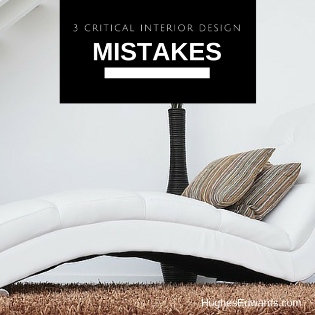 3 room wrecking design mistakes hughes edwards builders for Apartment design mistakes