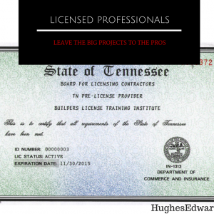4 Reasons to Work with Licensed Professionals