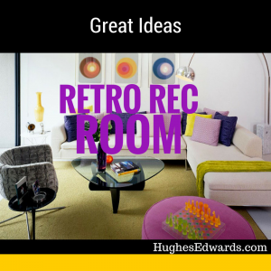 How to Design the Perfect Retro Rec Room