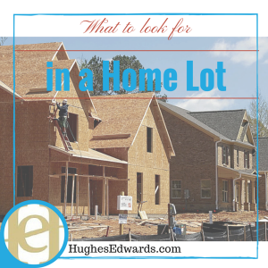What Should you Look for in a Home Lot?